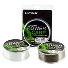 Ultima Power Carp Fluorocarbon Coated Line - 1000m - Clear - 10lb/12lb/14lb/16lb