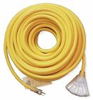 12Awg Heavy Duty 2' 6' 15' 25' 50' 75' 100' 3-Outlet SJTW 12/3 Extension Cord