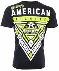 AMERICAN FIGHTER Mens T-Shirt CAMERON WEATHERED Athletic Biker Gym MMA UFC $40 image