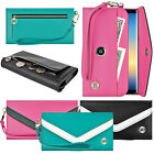 Luxury Smart Phone Phablet Flip Wallet Leather Design Pouch Purse Case Cover