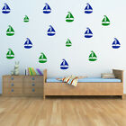 Yachts Sail Boat Boats Creative Multipack Wall Stickers Home Decor Art Decals