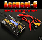 Turnigy Accucel 6 50W 6A Balancer /Charger with option of Power Supply UK STOCK