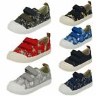 Clarks Infant Boys Canvas Doodles 'Halcy High'