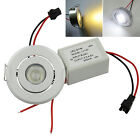 Ceiling Down Light  Recessed LED Bulb + Driver DC 12V-24V Spotlight Warm White