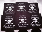 Death do us  part Wedding Koozies 3072 25 to 300 Personalized can party favors