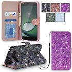 multi cases - For Motorola Moto Z Play Droid Multi Tonal Glitter Pu Leather Wallet Case Cover