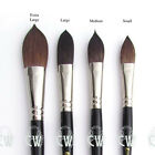 Pro Arte Artists Kazan Squirrel Wash Brushes. Series 50 Watercolour Mop Brush.