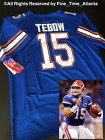NEW HARD 2 FIND Tim Tebow Florida Gators Mens Authentic Home Jersey Mets Colors