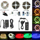 IP67 Waterproof 5M 5050 SMD 150/300Leds Warm/Cool White RGB/RGBW LED Strip Light