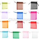 Luxury Organza Gift Bags Jewellery Pouches Xmas Wedding Party Candy Favour