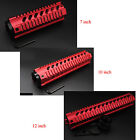 7'' 10'' 12'' Red Quad Rail Handgurad Free Float Picatinny Rail Mount / End Cap
