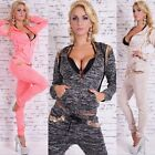 New Fashion Women's Long Sleeve Athletic Apparel Loose Casual Sports New Suits