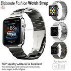 Apple Watch Band Strap Loop iWatch Stainless Steel Double Button Folding Clasp