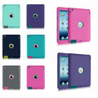 Shockproof Heavy Duty Rubber Hard Case Cover For APPLE iPad 2 3 4 5 6 /Air 2