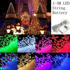 1-4M LED Battery Operated Fairy String Outdoor Wedding Christmas Party Light US