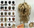 17 colors bendable wires tiny braid claw clip ponytail hair pieces wig AFE-0288A