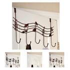 Home Bathroom Kitchen Coat/Hat/Bag Metal Music Style Hook Hanger Organizer Iron