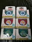 2X BIBI SWISS SILICONE SOOTHER NUGGI  DUMMY NATURAL OR DENTAL