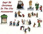 Dept 56 Christmas In The City - Accessories - Not Sold As A Set -  Your Choice