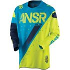 ANSR 2017 Elite LE Halo MX/Motocross Jersey - Blue/Yellow - New Product!!!!