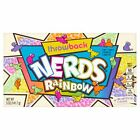 Original Nerds Rainbow Theatre Box American Soft Chewy Candy Sweets Flavor