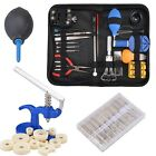 21 Watch Repair Tool Kit - Case Opener Hand Remover Spring Bars w/ Case HE8Y