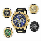 Invicta I-Force Gent's Steel & Polyurethane Strap Watch image