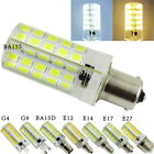 10pcs Dimmable G4 G9 E12 E14 E17 E27 LED Bulb AC 110V 220V 5W Light Bulb E