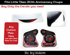 Replacement Fits Little Tikes cozy coupe 30th Anniverary stickers mirror car toy