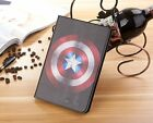 Spider-Man Batman Superman Wallet PU Leather Stand Case Smart Cover for iPad Pro