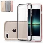 For iPhone 7 Plus Clear Dotted Soft TPU Shockproof Hard Bumper Back Case Cover