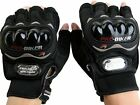 PRO BIKER HALF CUT GLOVES FOR RIDING AND BIKING ALL SIZES