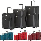 Paklite by Travelite Rocco 2 Rollen 3er Set Nest Trolley 2Rad Koffer 51+61+71 cm