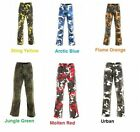 Draggin Jeans Camo Cargo Kevlar Motorcycle Jeans - All Colours - All Sizes