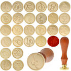 DIY Custom Initial Letter Wax Seal Stamp Alphabet Sealing Envelope Crafts New