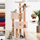 Cat Tree Scratching Post Bed Climbing Toy Scratcher Activity Centre 150 cm High