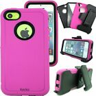 Protective Hybrid Defender Shockproof Hard Case Cover For Apple iPhone 4 5 6 7