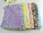 Lace Sheer Floral Print Triangle Veil Church Mantilla Scarf Shawl Wrap Tassel EW