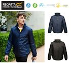 Regatta Mens Bomber Hooded Insulated Jacket -  Windproof Waterproof Taped Seams