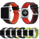 Sports Silicone Bracelet Band Replacement  Watch Strap For Apple Watch 38mm 42mm