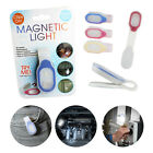 Clip On Torch Light LED Magnetic Hands Free Flashlight Clothes Cycling Running