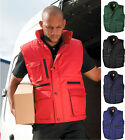 Result Padded Multi Pocket Work Bodywarmer Windproof Showerproof Durable Strong