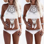2017 Women Bikini Set Swimwear Bandage Push-Up Padded Swimsuit Bathing Beachwear