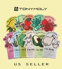 TONY MOLY Mask Sheets -I'm Real Korean Facial Mask Sheets *US Seller* You Pick!