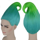 Trolls Poppy Branch Elf/Pixie Wig Colourful Cospaly Props Adult/Kid Size Lot