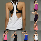 UP Women Sports Running Fitness Exercise Jogging Gym Yoga Vest Tank Top Singlet