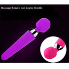 MEVOL 10 speed Mini Magic Wand Massager USB Rechargeable for Essential Travel US