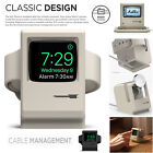 Apple Watch Stand iWatch USB Portable Charger Vintage Apple Monitor Silicone