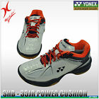 YONEX BADMINTON SHOE - POWER CUSHION 35 - SHB35JR - WHITE / BLACK JUNIOR SHOES