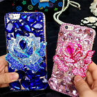 Cute Bling Phone Cases Glitter Sparkly Rhinestone Jeweled Hard back Cover Case K